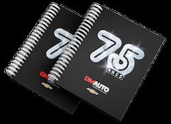 Caderno DM Auto 75 anos