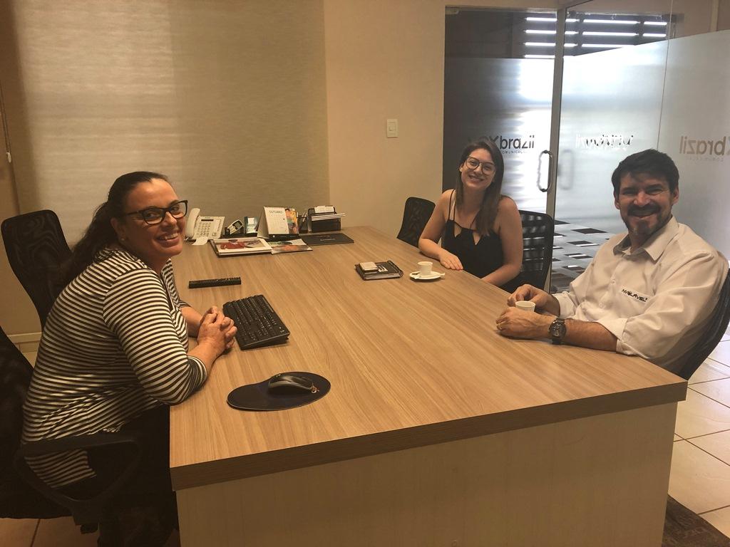 Reunião com unidade franqueada Inviolável Chapecó