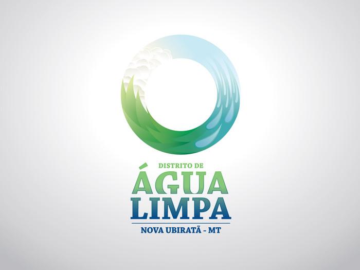 Nova logomarca de Água Limpa
