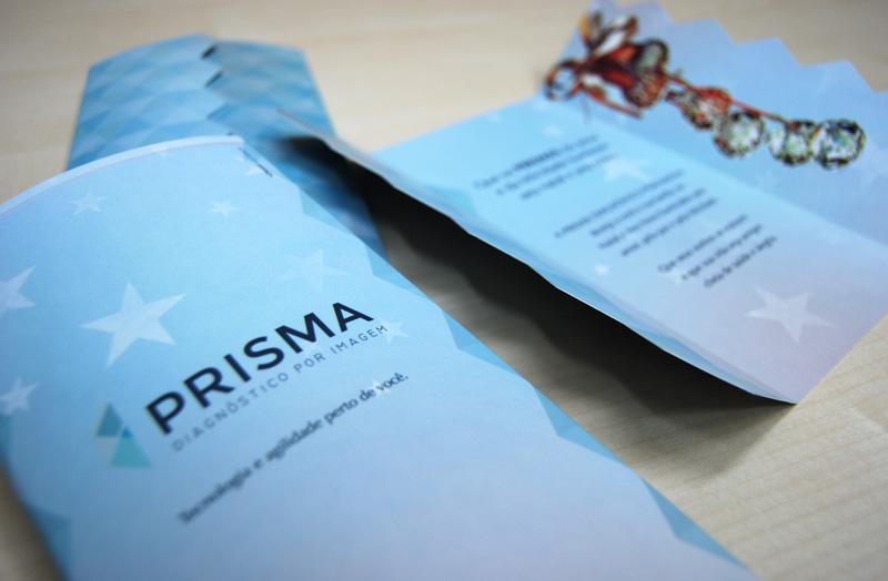 Cartão de Natal Prisma