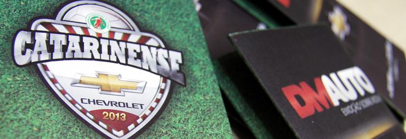 Tabela Catarinense Chevrolet 2013