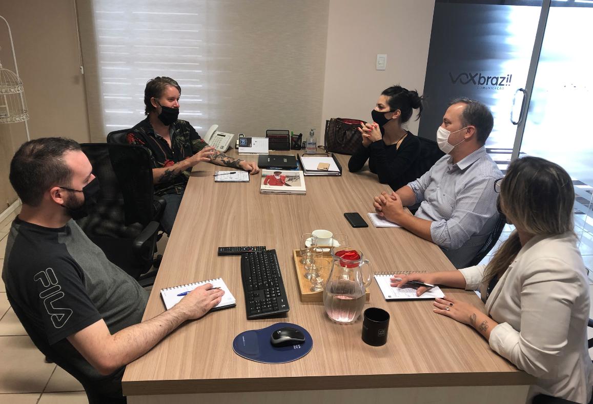 Novos desafios para a equipe Vox